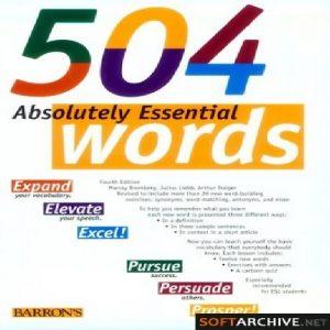 بسته آموزشی 504 کلمه ضروری انگلیسی