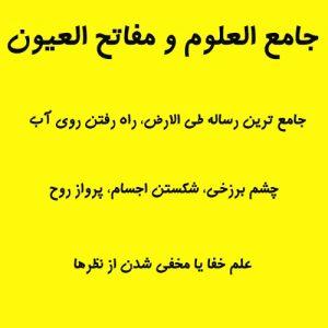 جامع العلوم و مفاتح العیون