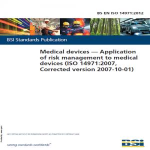BS EN ISO 14971