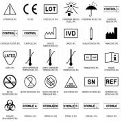 ایزو 980 (Symbols for use in the labelling )