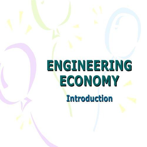 جزوه اقتصاد مهندسی